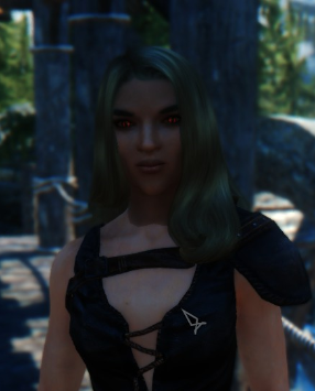 All vampires in game have dark brown faces - General - S T E P