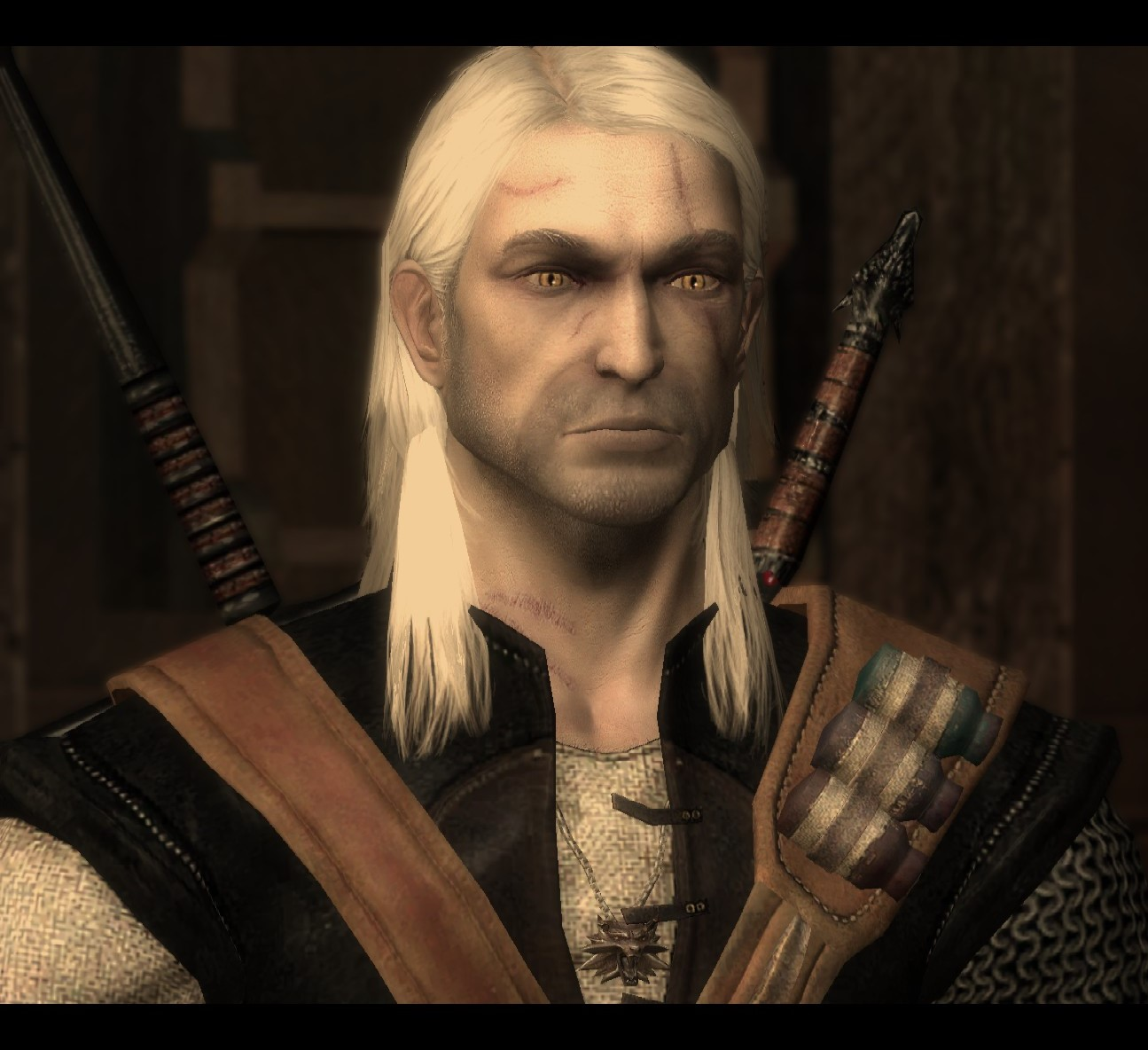 Geralt S Witcher 1 Hairstyle To Replace Long And Loose With Hair Works Compatible Request The Witcher 3 Mod Talk The Nexus Forums