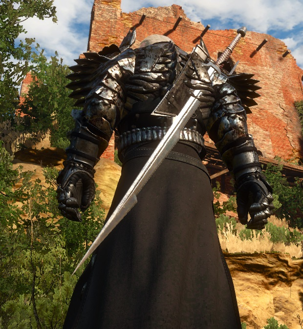 Sabre scabbard for a silver swords - The Witcher 3 Mod